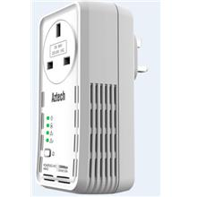 AZTECH HomePluG Wired Gigabit 1200MBPS W/AC P.T. (HL129EP) SINGLE