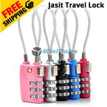 Jasit Lock TravelLock TSA719 3 Digit Lock Travel Luggage Padlock