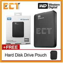 Western Digital 500GB Elements USB 3.0 Portable External Hard Disk Dr