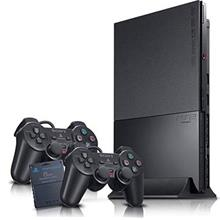 Sony PS2 Slim PlayStation 2 1Memory 2Ctrl SUPPORT HYBRID CD HDD