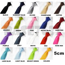 5cm Men Man Solid Color High Quality Neck Tie Necktie Bowtie 1409.1