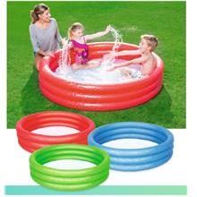 Bestway 3 Ringed Inflatable Swimming Paddling Pool 1.52m Diameter