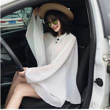 chiffon sunshade shawl shirt  silk scarf sun protection clothing