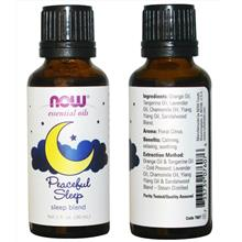 Now Foods, Peaceful Sleep Essential Oil Blend, Promotes Sleep (30 ml)