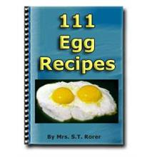 1 pc ebook - 111 Egg Recipes