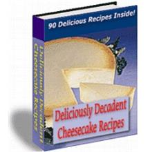 1 pc ebook - 90 Cheese Cake Recipes