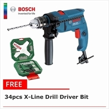 [FREE GIFT] Bosch GSB 1300 Pro Impact Drill Set (13mm Chuck with 100 Accessori