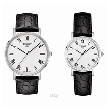 [Bundle Set] Tissot T-Classic Everytime Leather Couple Watch Set - T109.410.16