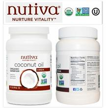 Nutiva, Organic Virgin Coconut Oil (444ml)