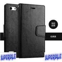 TPU Leather Wallet Casing Case Cover for Oppo Oppo Neo 7 (A33)