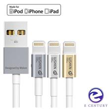 WSKEN Apple MFI Licensed Certified Metal iPhone Lightning Cable