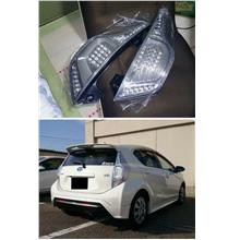 Toyota Prius C [C Style] LED Light Bar Tail Lamp [Smoke/Red-Smoke]