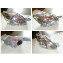 Toyota Vios 07 Crystal Head Lamp Chrome Housing 1 piece