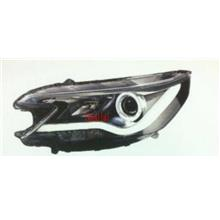 Honda CRV '13-14 LED Ring Projector DRL R8 Head Lamp [Black Housing]
