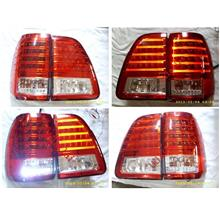 Toyota Landcruiser FJ100 '98-07 LED Tail Lamp [Red]
