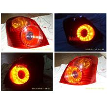 DEPO TOYOTA Yaris '06-09 CRYSTAL Tail Lamp LED [Red]