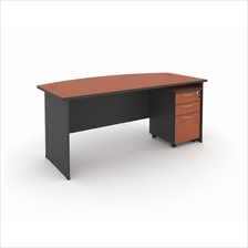 EXECUTIVE TABLE WITH MOBILE PEDESTAL 2D1F