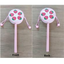 CELLY Fancy Baby Hand Drum with Strawberry Picture (GT 007)