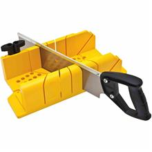 STANLEY 20-600 Clamping Mitre Box with 14 in Saw