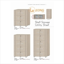 3 Size File Shelf Storage Utility Bookshelf Storage Cabinet WY-9466