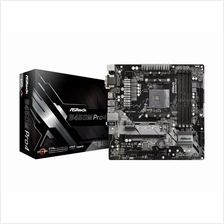 ASRock B450M PRO4 AM4  MATX Gaming Motherboard