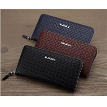 MW13 KOREAN Style Men High Quality Long Leather  Wallet