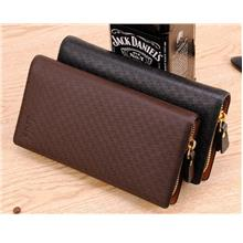 MW12 KOREAN Style Men High Quality Long Leather  Wallet