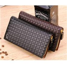 MW11 KOREAN Style Men High Quality Long Leather  Wallet