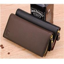 MW09 KOREAN Style Men High Quality Long Leather  Wallet