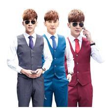 MV07 Men's Formal Casual Slim Vest Suit WaistCoat