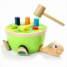 Topbright 120332 Small Hammer Beating Turtle Piling Toy for Children (MULTI)