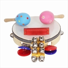 Musical Instrument Toy for Kid 8PCS (MULTI-A)