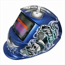 SOLAR ENERGY AUTOMATIC CHANGEABLE LIGHT ELECTRIC WELDING PROTECTIVE HELMET WIT