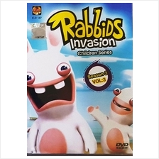 Rabbids Invasion Children Series Season 3 Vol.3 DVD