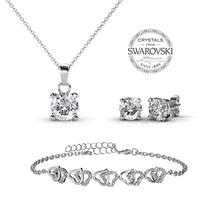 Sweetheart Set embellished w/Swarovski Crystals (worth RM339.90))