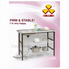 2 Layer Kitchen Rack With Sink Plate Metal