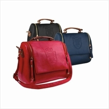PU Leather Messenger Bag (3 Colours Available)