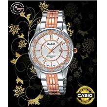 CASIO LTP-1358RG-7A LADY WATCH ☑ORIGINAL☑