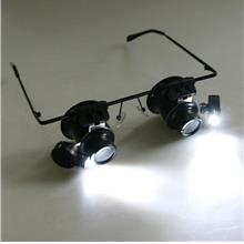 Magnifying Eyeglass Magnifier Glass Loupe Glasses 20X