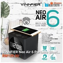 VINNFIER NEO AIR 6 WIRELESS ALARM CLOCK RADIO SPEAKER