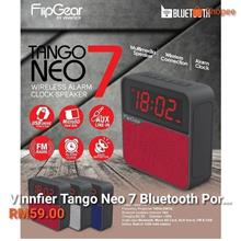 FLIPGEAR TANGO NEO 7 WIRELESS ALARM CLOCK SPEAKER