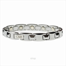 Criss Tungsten Carbide Bio Magnetic Health Bracelet for Men - TCM 8900