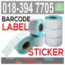 Thermal Barcode Label Sticker for printer - 35x25 / 40x30 / 60x40
