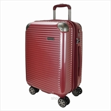 Hush Puppies 694013 ABS Hard Trolley Case Luggage - Red)