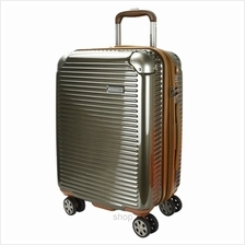 Hush Puppies 694013 ABS Hard Trolley Case Luggage - Gold)