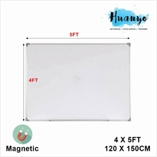 Magnetic White Board 4' X 5'