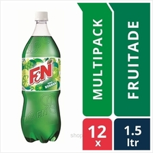 [12 packs] F &N Fun Flavours 1.5L Flashy Fruitade Pet Bottles)