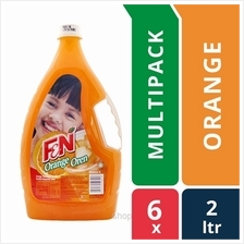 [6 packs] F &N Orange 2L Cordial Bottle)