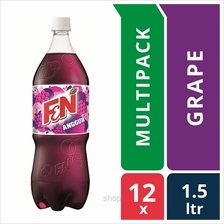 [12 packs] F &N Fun Flavours 1.5L Groovy Grape Pet Bottles)
