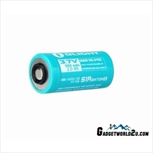 Olight Custom RCR123 / 16340 Li-ion Rechargeable Battery For Olight S1
